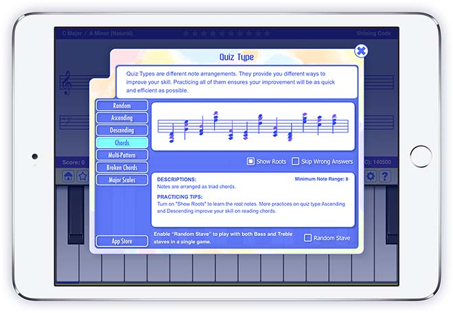 Sight Reading App Designed for Piano Teachers and Piano Beginners